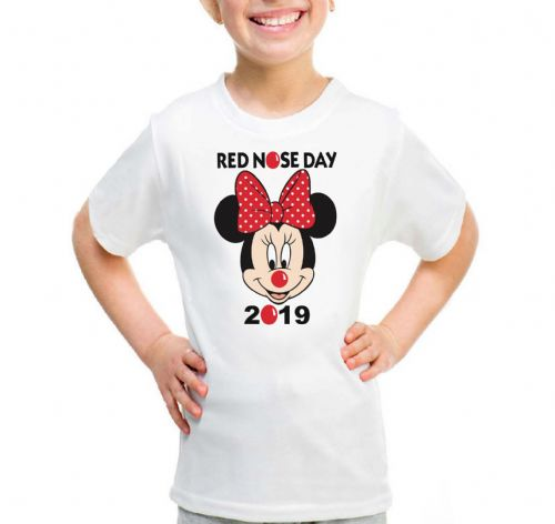 Minnie Mouse Red Nose Day T-shirt